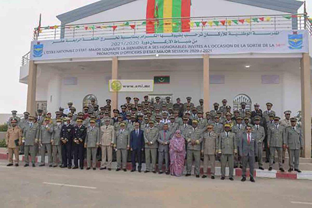 Sortie de la 14eme promotion de l'école nationale de l'Etat-major
