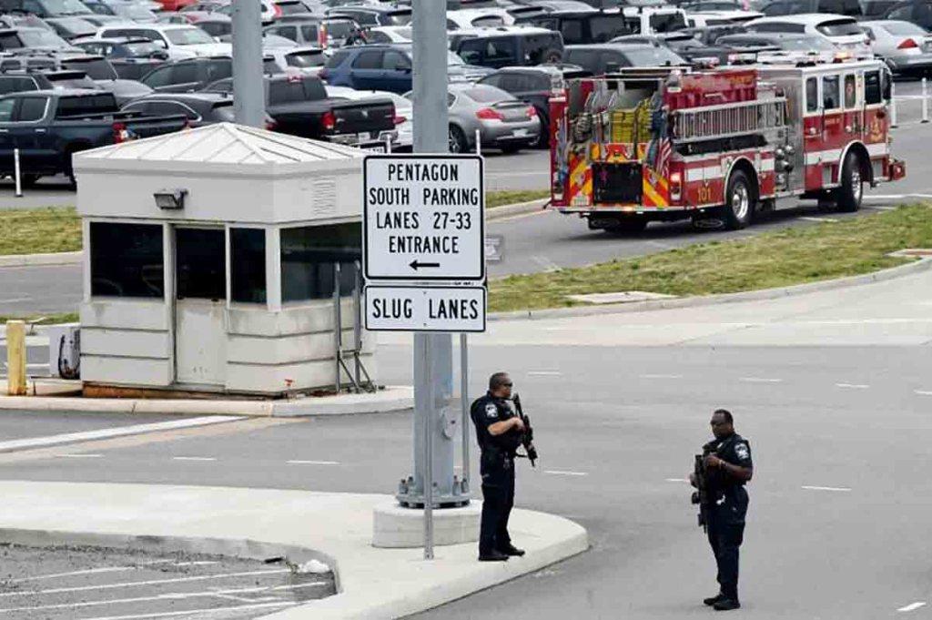 États-Unis: Un policier tué dans une attaque à quelques mètres du Pentagone