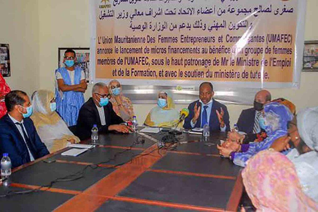Financement de projets au profit des femmes entrepreneures et commerçantes