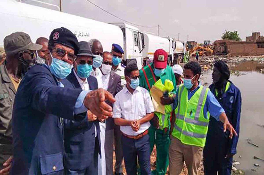 Opération de réhabilitation du réseau d'assainissement de Kaédi