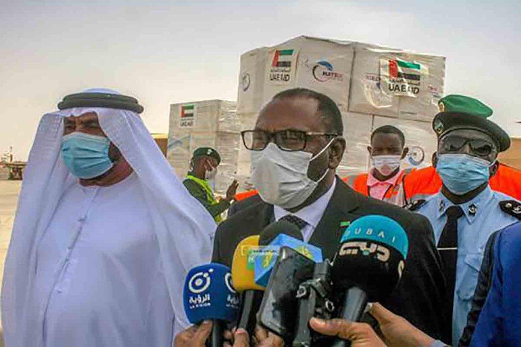 100.000 doses de vaccin de la covid-19 offerts par les Emirats Arabes Unis à la Mauritanie