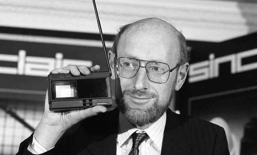 Clive Sinclair, inventeur de la calculatrice de poche est mort