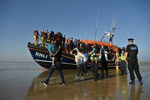 Dans la Manche, 126 migrants sauvés par les autorités françaises