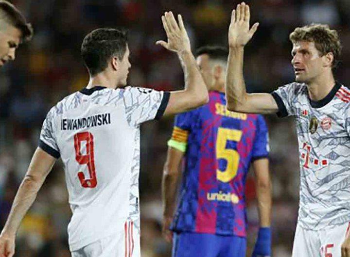 Ligue des champions : le Bayern écrase le Barça sans Messi 3-0