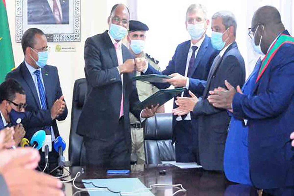 Protocole d'accord pour la création de 300 emplois avec ARISE Mauritania