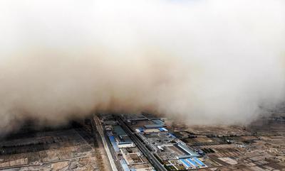 Brésil, de gigantesques tempêtes de sable ont fait six morts
