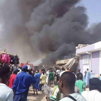 Sebkha: le marché du 5ème ravagé par un incendie