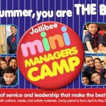 Jollibee Mini Managers Camp 2