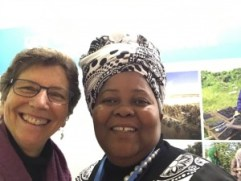 Ellie and Mozambique Mayor Nov 2017 COP23