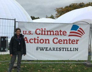 Ellie at UC Climate Action Center Cop23 Nov 2017