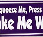 Squeeze Me, Press Me, Make Me Wine – Bumper Sticker