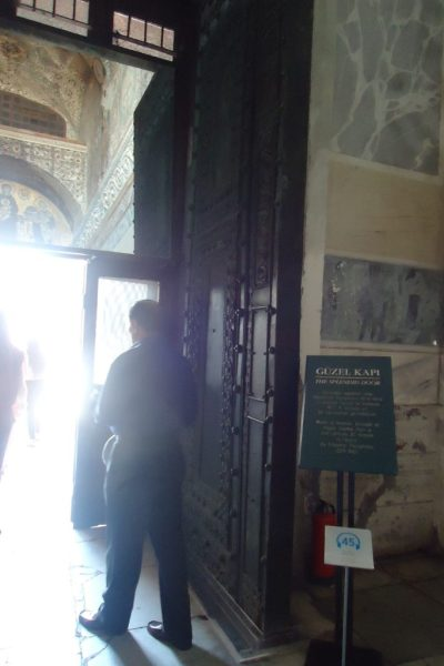 Splendid Door at Hagia Sophia
