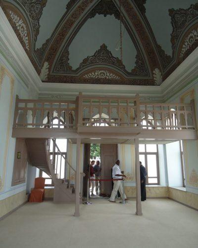 Inside the Sofa (Terrace) Mosque Topkapi Palace