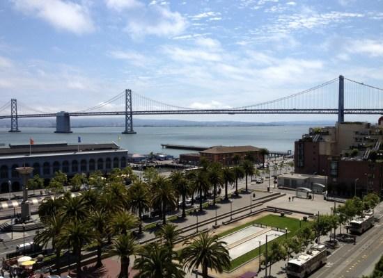 View from the Embarcadero Suite Hyatt Regency San Francisco
