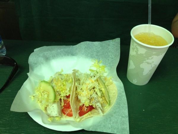 Garden Gourmet Cafe Hana Fish Tacos