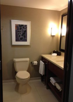 Renovated bathrooms at Hyatt Regency Sacramento Capitol Park