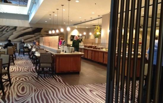 Review Hyatt Regency Sacramento Vines Cafe