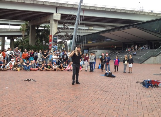Sydney Harbour Street Performances
