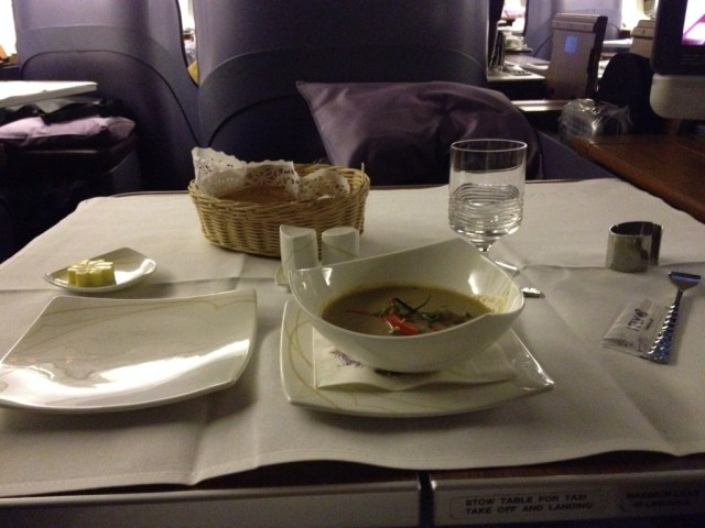 Thai Airways First Class Bangkok to Sydney Review