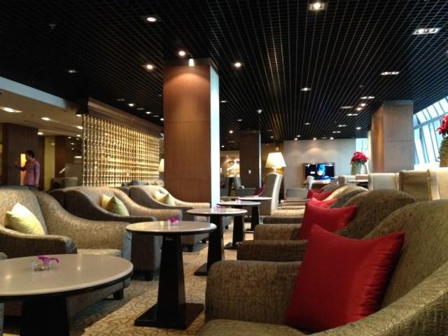 Thai Airways Royal First Class Lounge Bangkok Suvarnabhumi, Thai Airways First Class Lounge