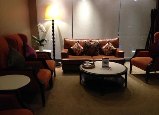 Thai Airways Royal First Class Lounge Private Room Bangkok Suvarnabhumi Airport