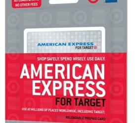 Where to find American Express for Target Card
