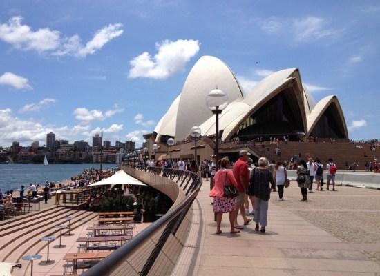 Sydney Opera House Circular Quay Harbor