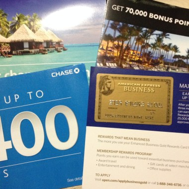 American Express Gold Business 75,000 Offer