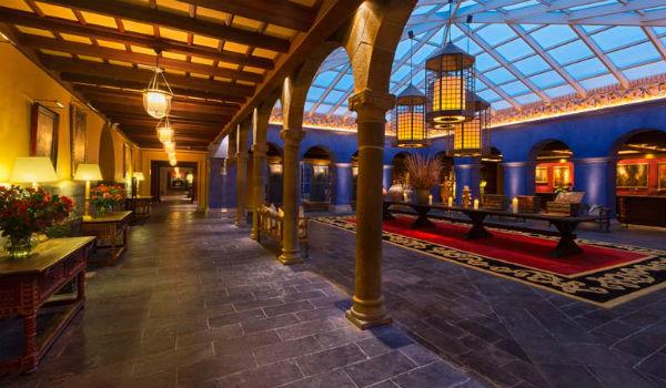 Palacio del Inka Lobby Source: Hotel website
