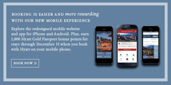 Hyatt Mobile App Booking Bonus
