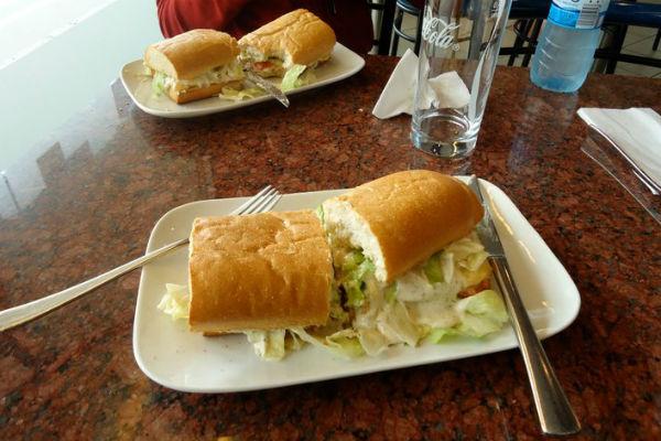 Crox Sandwich in Hamburg