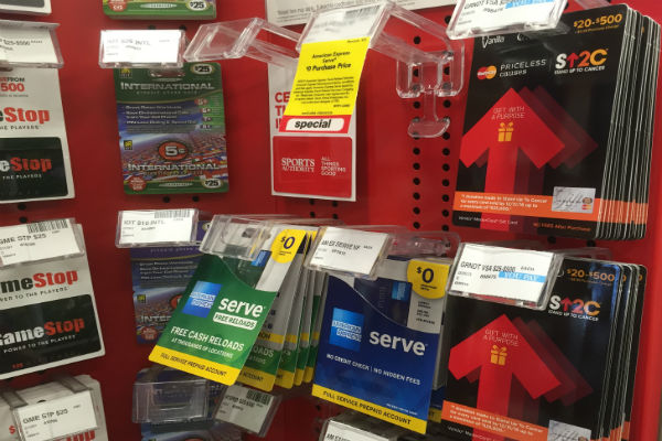 Vanilla MasterCard Priceless Causes gift cards at CVS