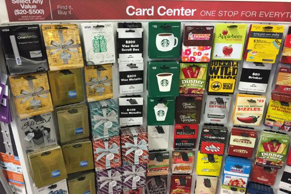 Office Depot Visa Gift Card Rack Manufactured Spending