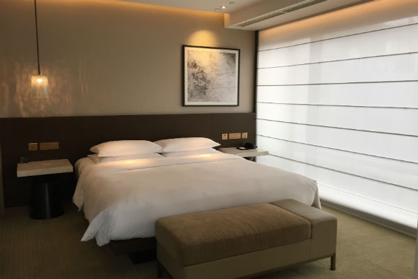 Grand Hyatt Hong Kong Grand Suite Bedroom
