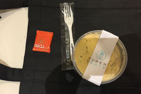 Jalapeño Mac & Cheese from American Grilled Cheese Kitchen, delivered by UberEats