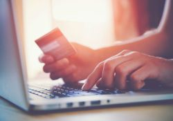 Earning miles and points for shopping online with a credit card