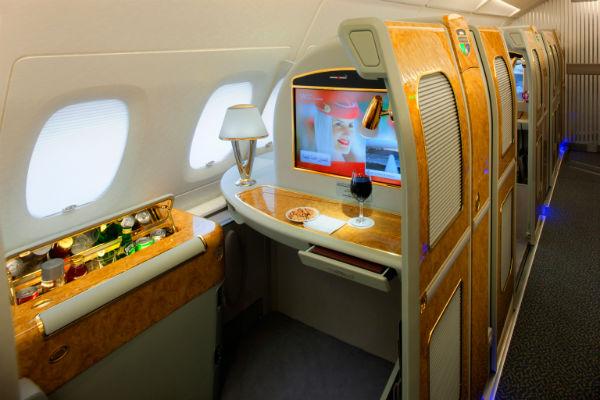 EmiratesA380 First Class Private Suite