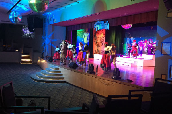 Disney Performance at Hyatt Ziva Los Cabos