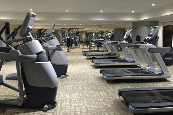 Workout Equipment at the Hyatt Ziva Los Cabos Gym