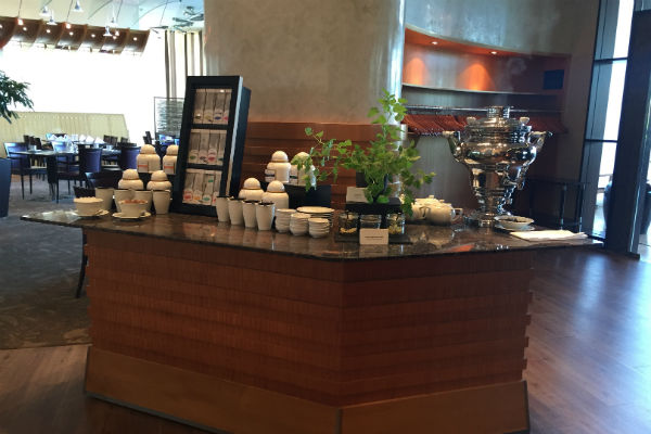 Asian Breakfast Station at the Charles Lindbergh Restaurant