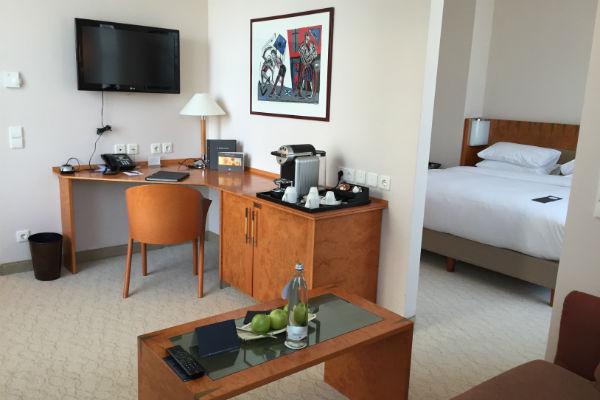 Hilton Munich Airport Junior Suite Living Room