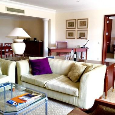 Hyatt Regency Thessaloniki Suite Dining Area