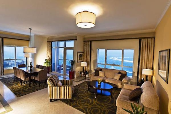 2-bedroom Suite Dubai Marriott Harbour Hotel & Suites