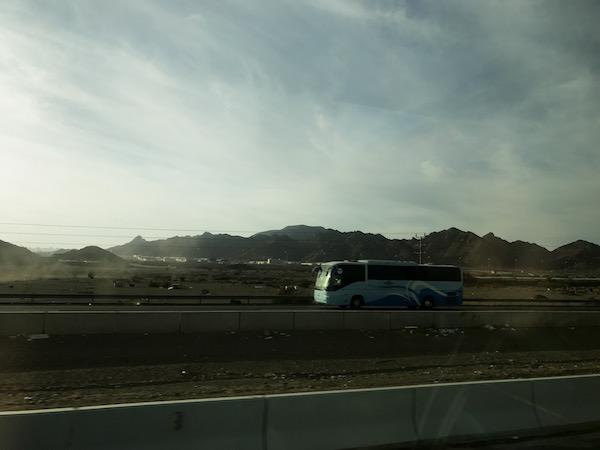 SAPTCO Bus from Mecca to Medina