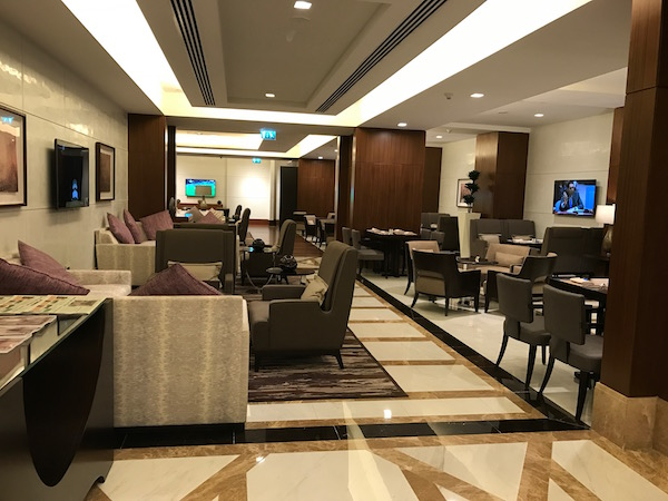 Conrad Makkah Club Lounge Seating Area