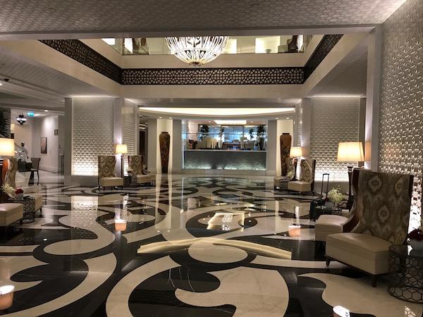 Conrad Makkah stunning hotel lobby review