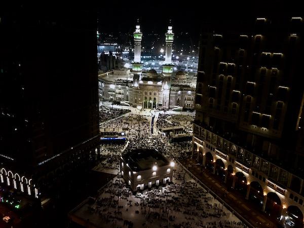Masjid Al Haram View from Conrad Makkah Suite review