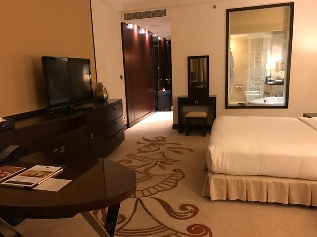 Conrad Dubai Deluxe Room Review