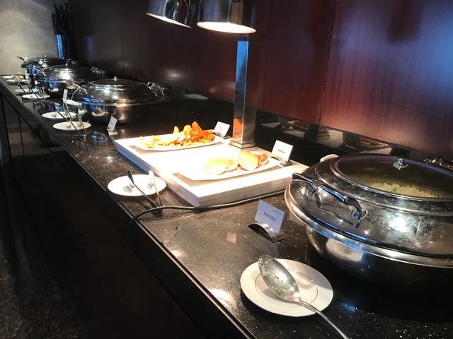 Conrad Dubai Lounge Breakfast Pancakes