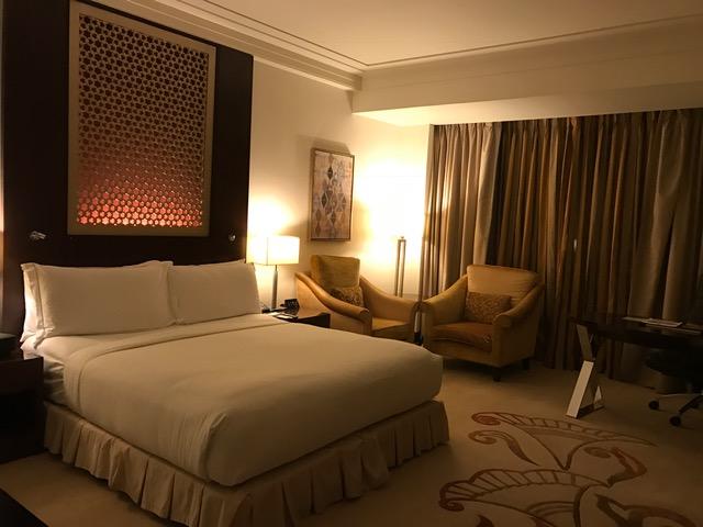 Conrad Dubai Standard Deluxe Room Booked on Points